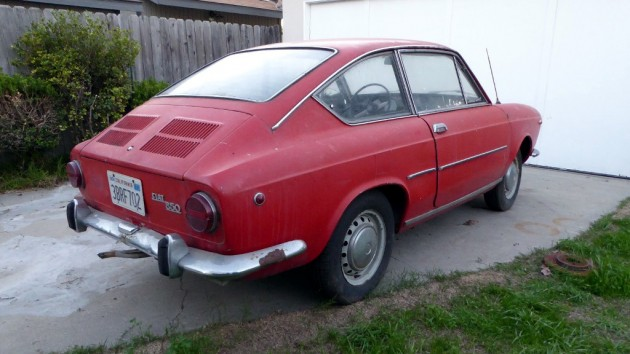 1968 Fiat 850 Coupe Project