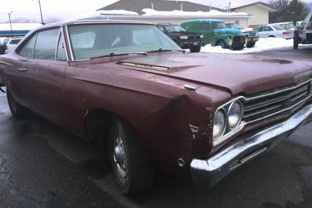 1968 Plymouth GTX Damage