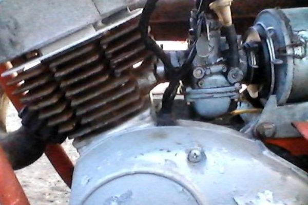 1972 Hodaka Ace 100 Motor