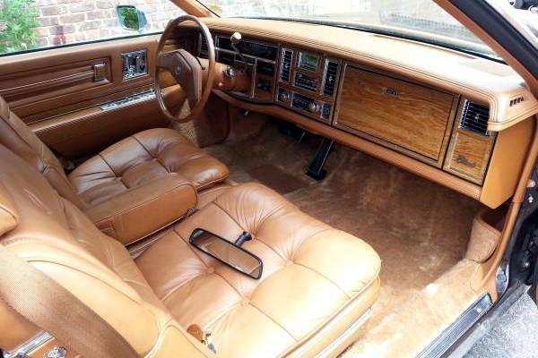 1980 Cadillac Elderado Interior