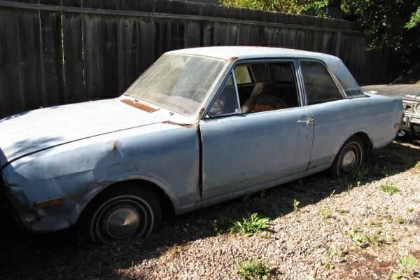 Cortina Parts Car
