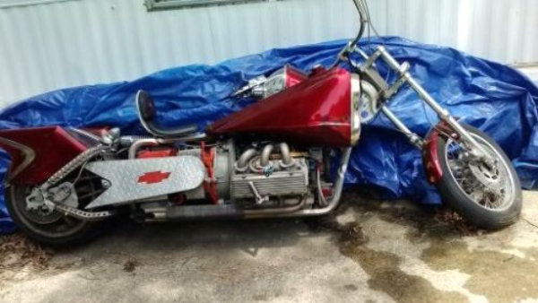 Corvair Powered Motorcycle
