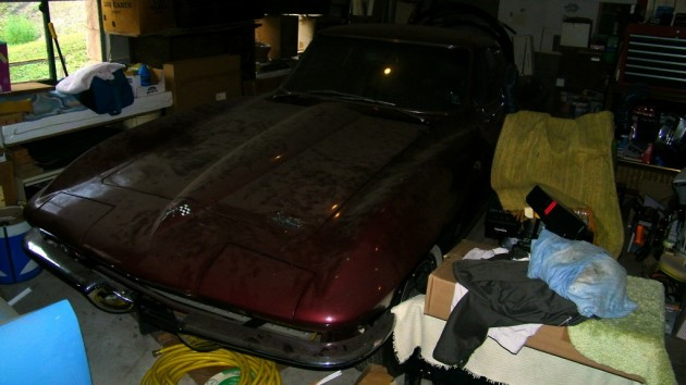 Jason's 1966 Corvette