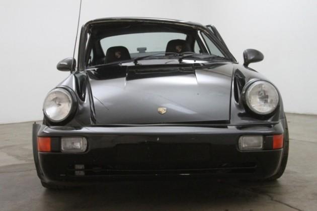 Wrecked 911 Turbo