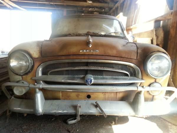 030316 Barn Finds - 1960 Peugeot 403 - 6