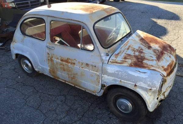 030416 Barn Finds - 1969 Fiat 600 1