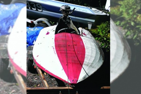 031116 Barn Finds - 1950s Hydroplane boat 1