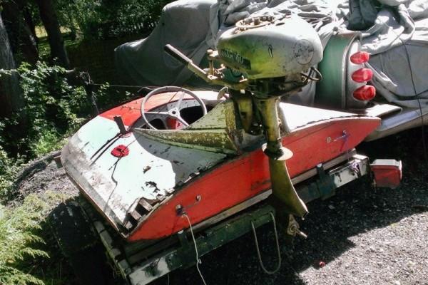 031116 Barn Finds - 1950s Hydroplane boat 4