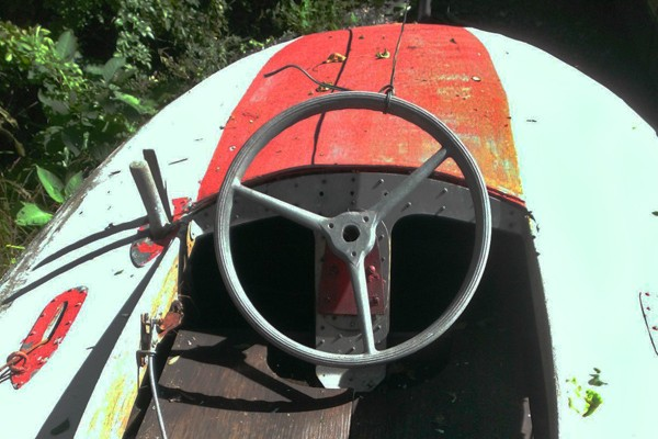 031116 Barn Finds - 1950s Hydroplane boat 5