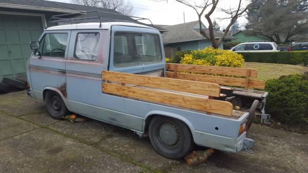 031116 Barn Finds - 1980 VW Vanagon pickup 3