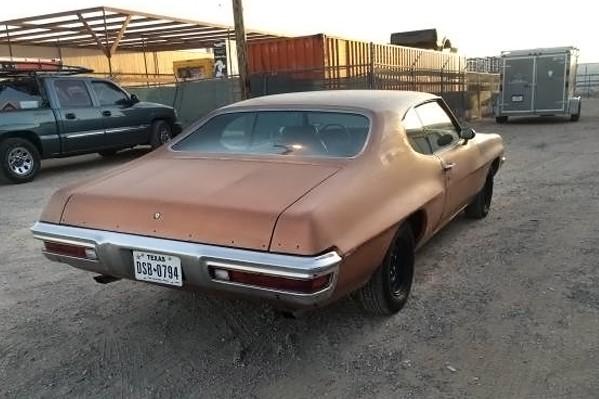 Texas Troubadour 1972 Pontiac Lemans