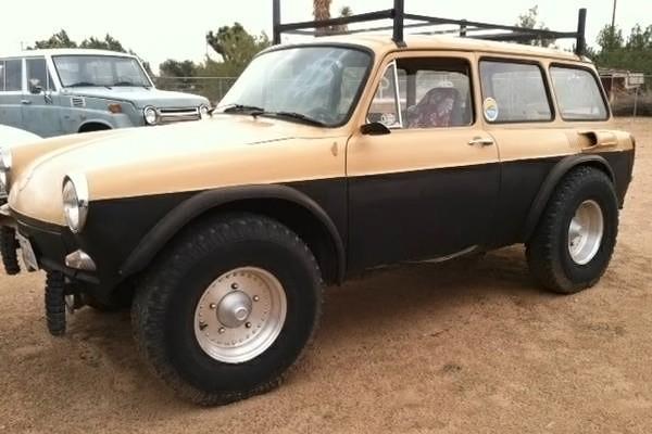 031716 Barn Finds - 1968 Volkswagen Squareback Baja 1
