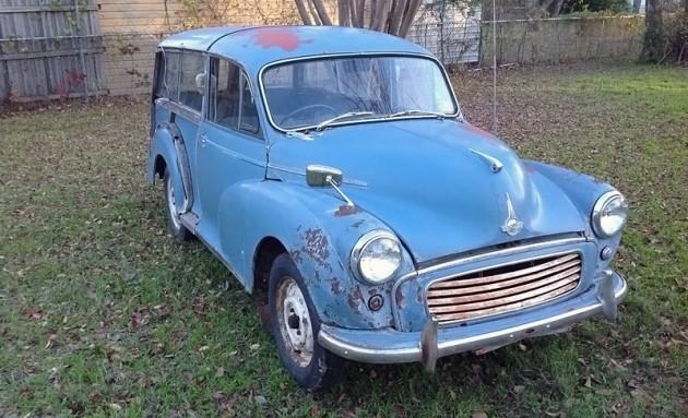 032216 Barn Finds - 1959 Morris Minor Traveller 1