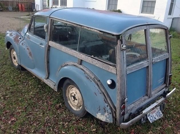 032216 Barn Finds - 1959 Morris Minor Traveller 2