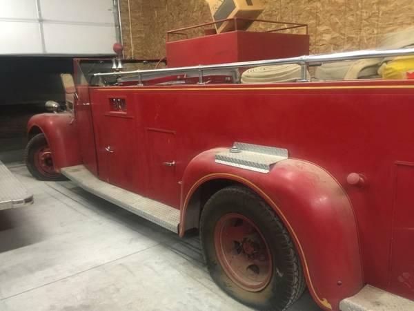 1947 Maxim Fire Truck Side