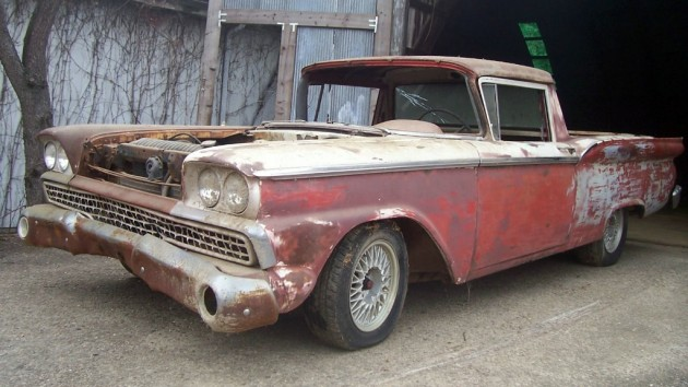 1959 Ford Ranchero Project