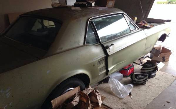 1967 Mustang Project