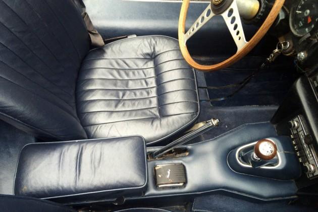 1968 Jaguar E-Type Interior