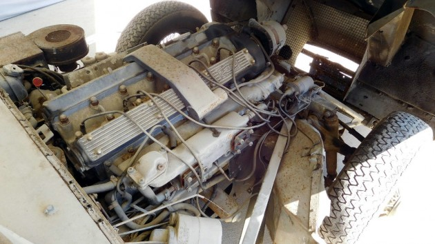 1969 Jaguar XKE Engine