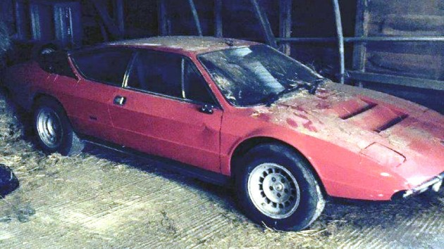 1972 Lamborghini Urraco Barn Find