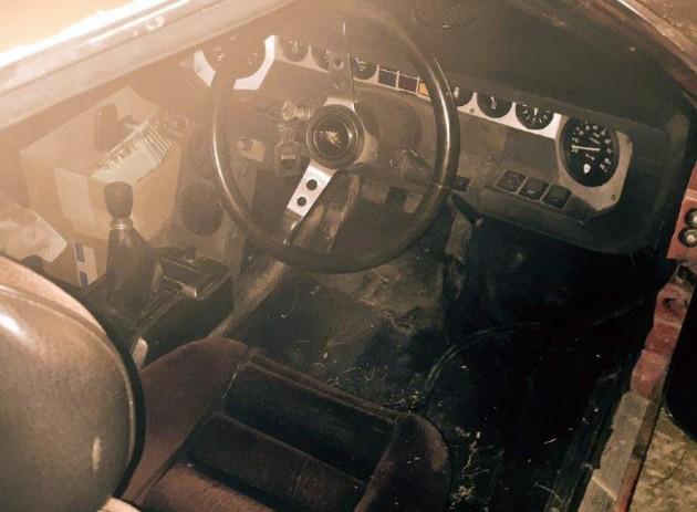 1972 Lamborghini Urraco Interior