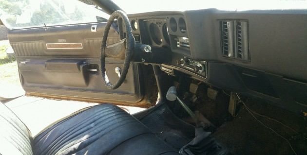1973 Chevelle SS Interior