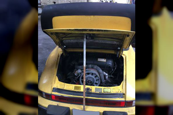 1980 Porsche SC Targa Engine