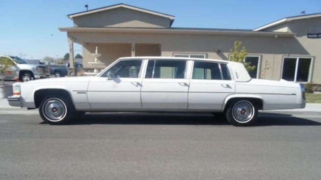 1982 Cadillac DeVille Limo
