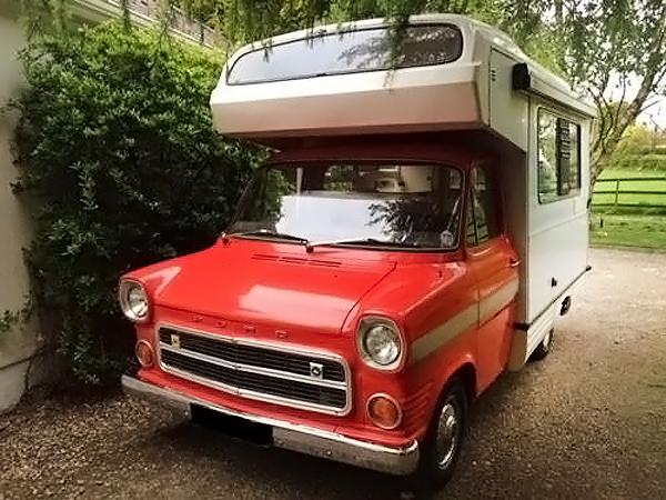 041016 Barn Finds - 1973 Ford Transit Mk1 Camper - 1