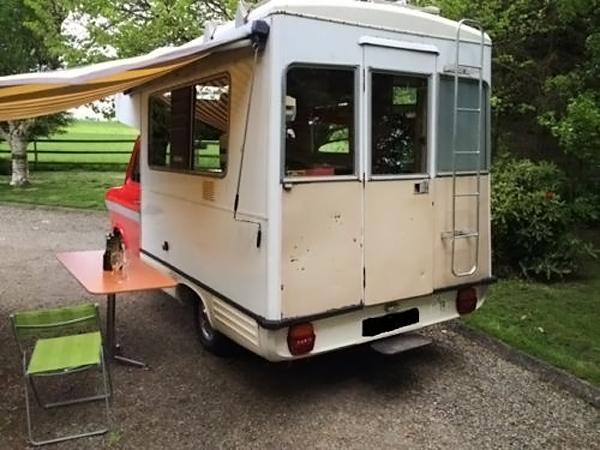 041016 Barn Finds - 1973 Ford Transit Mk1 Camper - 3