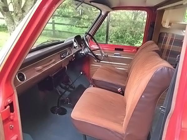 041016 Barn Finds - 1973 Ford Transit Mk1 Camper - 4