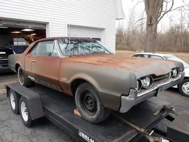 041116 Barn Finds - 1967 Oldsmobile 442 - 1