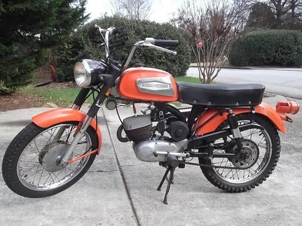041216 Barn Finds - 1969 Harley Davidson Rapido - 1