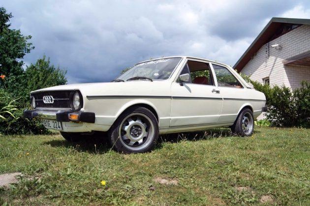 041516 Barn Finds - 1975 Audi 80L - 1