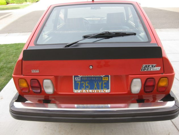 041716 Barn Finds - 1978 Fiat 128 SPORT 3P - 3