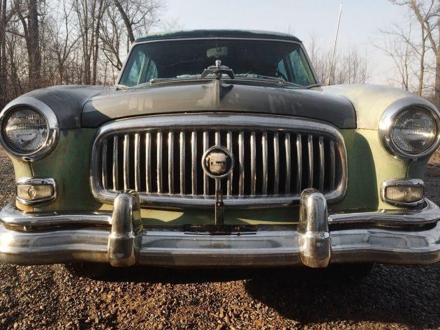 042116 Barn Finds - 1953 Nash Ambassador Airflyte - 1