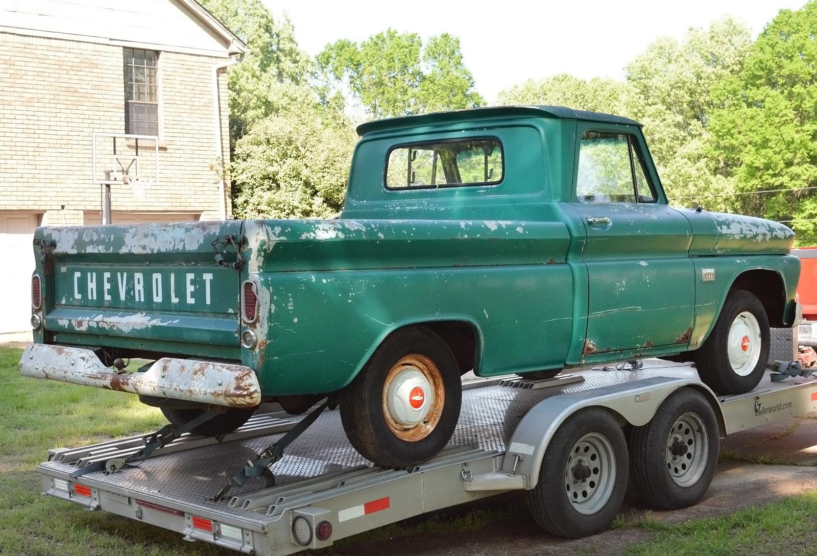 Short And Sweet 1966 Chevrolet C10 Fleetside