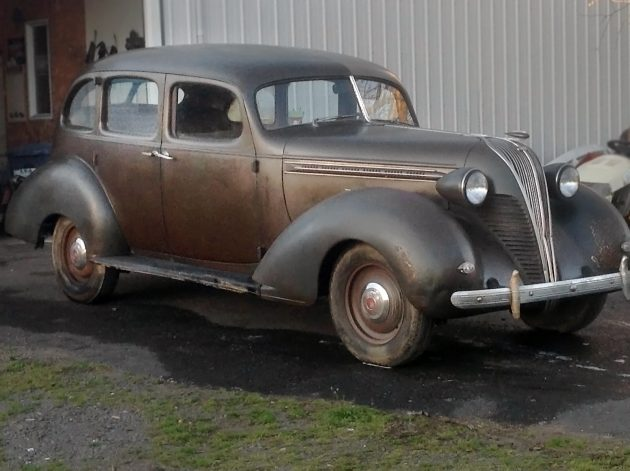 042616 Barn Finds - 1937 Hudson Terraplane - 1