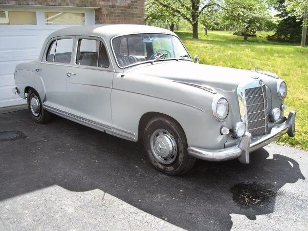 042616 Barn Finds - 1959 Mercedes-Benz 220S - 1