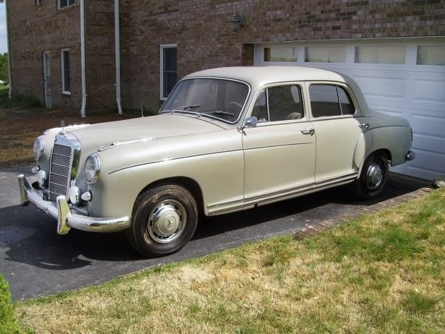 042616 Barn Finds - 1959 Mercedes-Benz 220S - 2