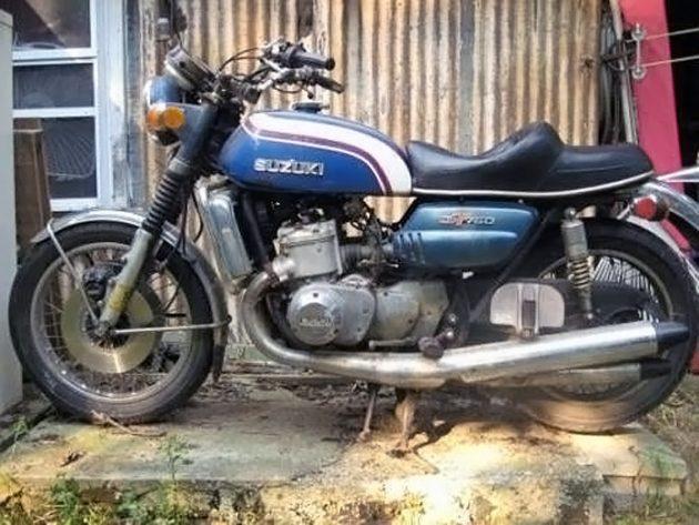 042616 Barn Finds - 1973 Suzuki GT750 - 1