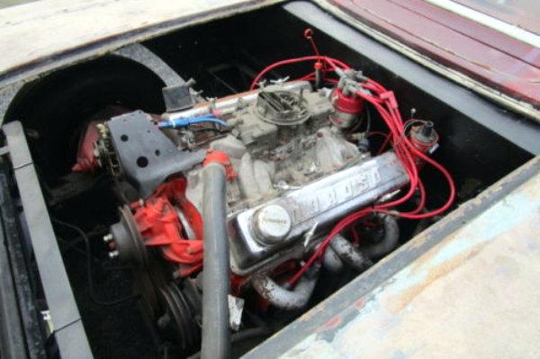 1959 Corvette V8 Engine