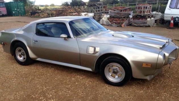 1972 Pontiac Firebird before restoration