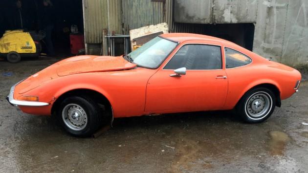 American 1971 Opel GT