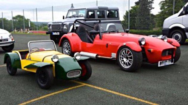 Extra lightweight Lotus Seven