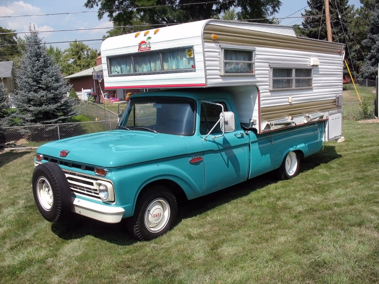 20,370 Miles!: 1966 Ford F-100 Camper Special
