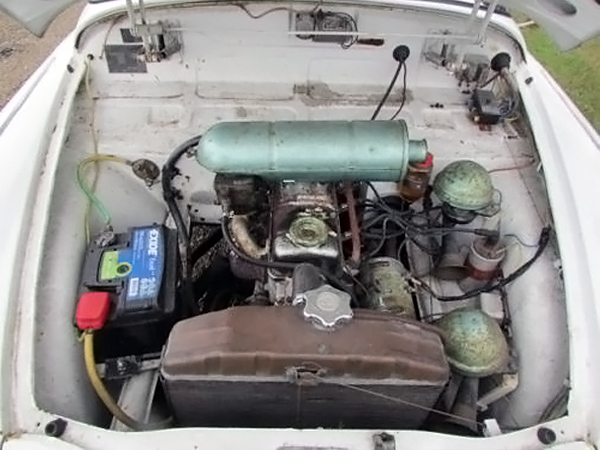 050316 Barn Finds - 1960 Skoda Felicia 944 convertible - 4