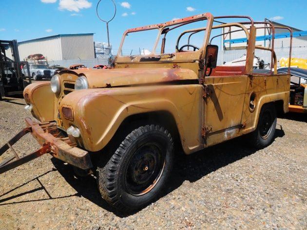 050416 Barn Finds - 1958 Austin Gipsy - 1