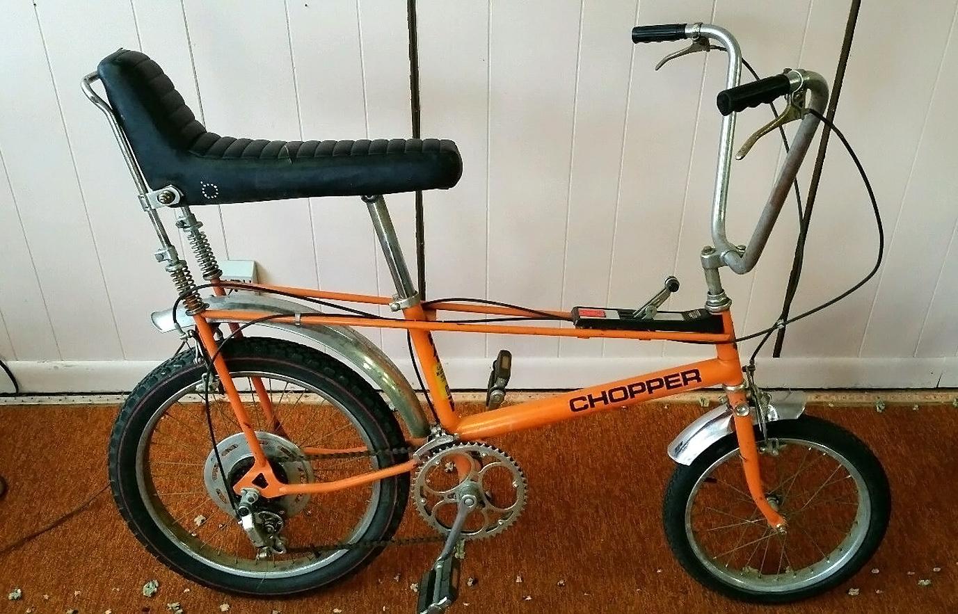 Easy Rider: 1971 Raleigh Chopper Mk 1 – Barn Finds