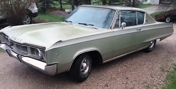 050816 Barn Finds - 1968 Dodge Polara 500 - 1